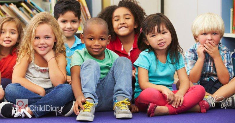ChildDiary em Portugal - Grupo de crianças
