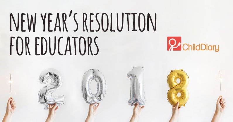 New Year's Resolution just for Early Childhood Professionals