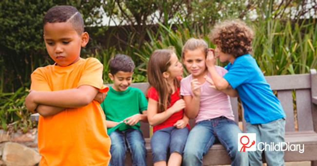 A maçã e o bullying - Crianças e o bullying ChildDiary