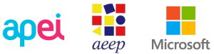 Lista de parceiros ChildDiary: APEI, AEEP e Microsoft
