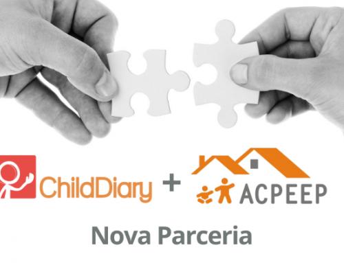 Nova Parceria: ACPEEP e ChildDiary