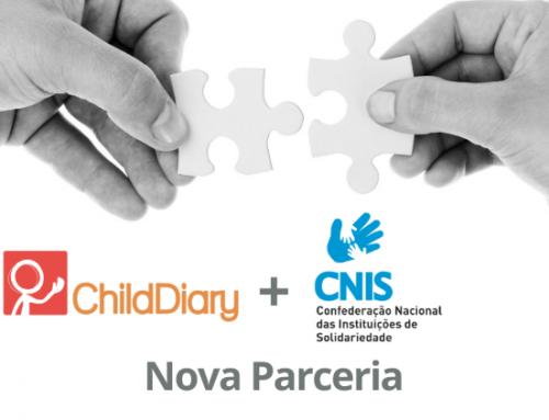 Nova Parceria: CNIS e ChildDiary